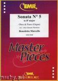 Okładka: Marcello Benedetto, Sonata N° 5 in Bb major - Oboe