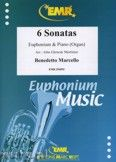 Okładka: Marcello Benedetto, 6 Sonatas - Euphonium