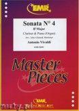 Okładka: Vivaldi Antonio, Sonata N° 4 in Bb major - CLARINET