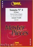 Okładka: Vivaldi Antonio, Sonata N° 4 in Bb major - Horn