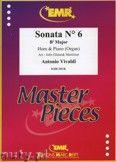 Okładka: Vivaldi Antonio, Sonata N° 6 in Bb major - Horn