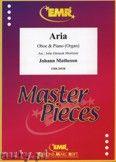 Okładka: Matheson Johann, Aria - Oboe