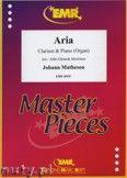 Okładka: Matheson Johann, Aria - CLARINET