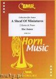 Okładka: James Ifor, A Sheaf of Miniatures for 2 Horns and Piano