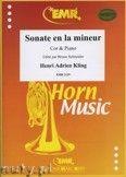 Okładka: Kling Henry Adrien, Sonate en la mineur - Horn