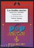Okładka: Prevert J., Kosma Joseph, Les Feuilles Mortes - CLARINET