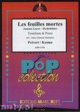 Okładka: Prevert J., Kosma Joseph, Les Feuilles Mortes - Trombone