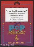 Okładka: Prevert J., Kosma Joseph, Les Feuilles Mortes - Euphonium