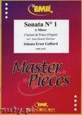 Okładka: Galliard Johann Ernst, Sonata N° 1 in A minor - CLARINET