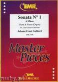 Okładka: Galliard Johann Ernst, Sonata N° 1 in A minor - Horn