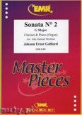 Okładka: Galliard Johann Ernst, Sonata N° 2 in G major - CLARINET