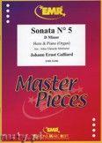 Okładka: Galliard Johann Ernst, Sonata N° 5 in D minor - Horn