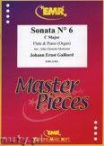 Okładka: Galliard Johann Ernst, Sonata N° 6 in C major - Flute