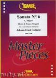 Okładka: Galliard Johann Ernst, Sonata N° 6 in C major - Horn