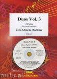 Okładka: Mortimer John Glenesk, Duos Vol. 3  - Flute