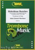 Okładka: Mortimer John Glenesk, Hebridean Sketches for Trombone and Harp