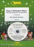 Okładka: Mortimer John Glenesk, Easy Christmas Duos - CLARINET