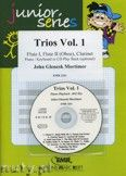 Okładka: Mortimer John Glenesk, Trios, Vol. 1 for 2 Flutes (Oboe) and Clarinet