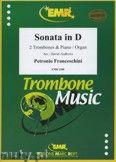 Okładka: Francheschini Petronio, Sonata in D - Trombone