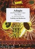Okładka: Beethoven Ludwig Van, Adagio in C minor Op. 13 - BRASS BAND
