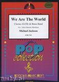 Okładka: Jackson Michael, Richie Lionel, We Are The World (Chorus SATB) - BRASS BAND