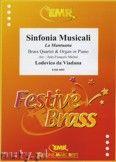 Okładka: Viadana Lodovico, Sinfonie Musicali: La Mantouana - BRASS ENSAMBLE