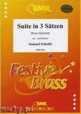 Okładka: Scheidt Samuel, Suite in 3 Sätzen - BRASS ENSAMBLE
