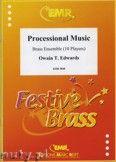 Okładka: Edwards Owain, Processional Music for Brass Ensemble