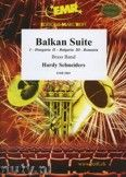 Okładka: Schneiders Hardy, Balkan Suite (Hungaria - Bulgaria - Romania) - BRASS BAND