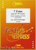 Okładka: Sturzenegger Kurt, 7 Trios aus der 16. - 18. Jahrhundert für Horn, Posaune und Tuba