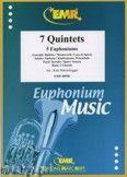 Okładka: Sturzenegger Kurt, 7 Quintette für 7 Euphonium