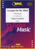 Okładka: Carmichael Hoagy, Georgia on my Mind for Tuba Quartet