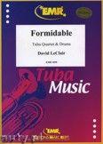 Okładka: Leclair David, Formidable for Tuba Quartet and Drums