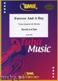 Okładka: Leclair David, Forever And A Day for Tuba Quartet and Drums