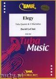 Okładka: Leclair David, Elegy for Tuba Quartet and 4 Marimbas