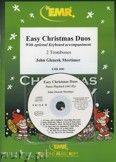 Okładka: Mortimer John Glenesk, Easy Christmas Duos - Trombone