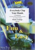 Okładka: Armitage Dennis, Everybody Clap Your Hands - Trombone