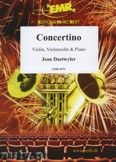 Okładka: Daetwyler Jean, Concertino for Violin, Violoncello and Piano