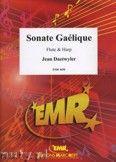 Okładka: Daetwyler Jean, Sonate Gaélique for Flute and Harp