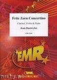 Okładka: Daetwyler Jean, Fritz Zorn Concertino for Clarinet, Violin and Piano