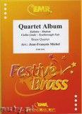 Okładka: Michel Jean-François, Quartet Album (Cielito Lindo, Kalinka, Shalom, Scarborough Fair) - BRASS ENSAMBLE