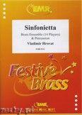 Okładka: Hrovat Vladimir, Sinfonietta for Brass Ensemble and Percussion