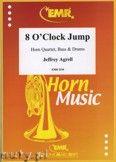 Okładka: Agrell Jeffrey, 8 O'Clock Jump for Horn Quartett, Bass and Drums