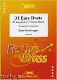 Okładka: Sturzenegger Kurt, 31 Duos faciles (Trompete in B) - BRASS ENSAMBLE