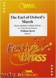 Okładka: Byrd William, The Earl of Oxford's March - BRASS ENSAMBLE