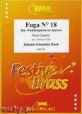 Okładka: Bach Johann Sebastian, Fuga N° 18 - BRASS ENSAMBLE