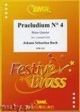 Okładka: Bach Johann Sebastian, Praeludium N° 4 - BRASS ENSAMBLE