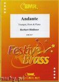 Okładka: Rüdisser Herbert, Andante Op. 7 for Trumpet, Horn and Piano