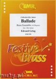 Okładka: Grieg Edward, Ballade for Brass Ensemble