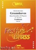 Okładka: James Ifor, Greensleeves for Brass Ensemble